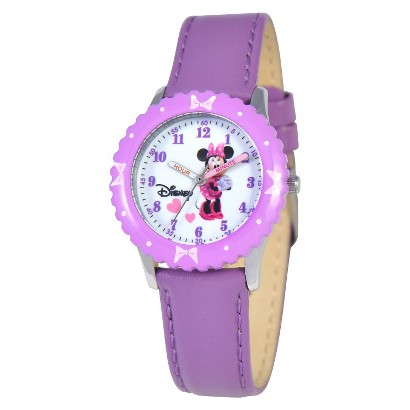 Disney Kid's Minnie Watch Purple
