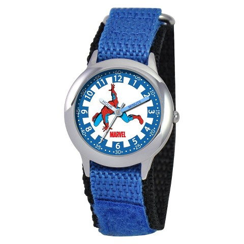 Marvel Spiderman Kids Watch Blue
