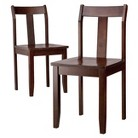 Threshold™ Dining Chairs - Set of 2 - Dark Tobacco