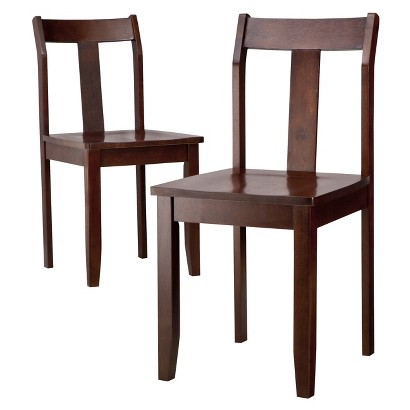 Threshold™ Dining Chairs - Set of 2 - Dark Tobacco