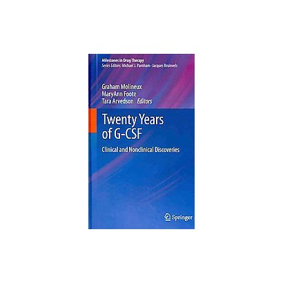 Twenty Years of G-CSF (Hardcover)