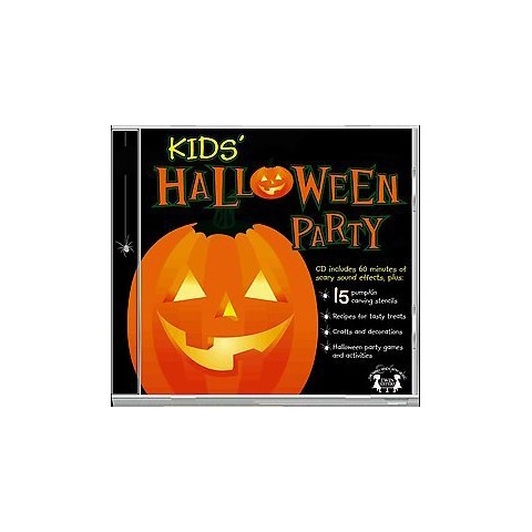 Kids Halloween Party (Compact Disc)