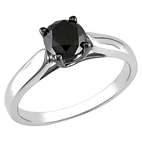 1 CT.T.W. Black Diamond Fashion Ring in Sterling Silver