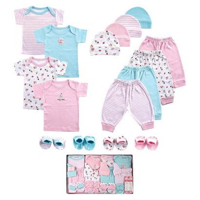 Luvable Friends™ Newborn Girls' 16 Piece Layette Set - Pink 0-6 M