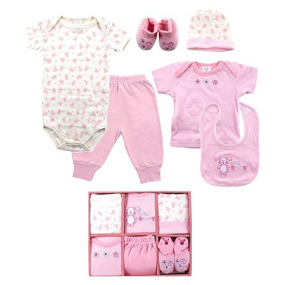 Luvable Friends™ Newborn Girls' 6 Piece Layette Box Set - 0-6 M