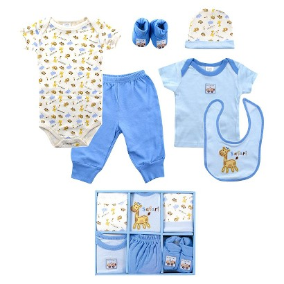 Luvable Friends™ Newborn Boys' 6 Piece Layette Box Set - 0-6 M
