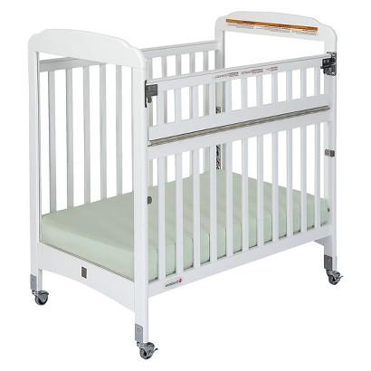 Foundations Crib with Mattress - White