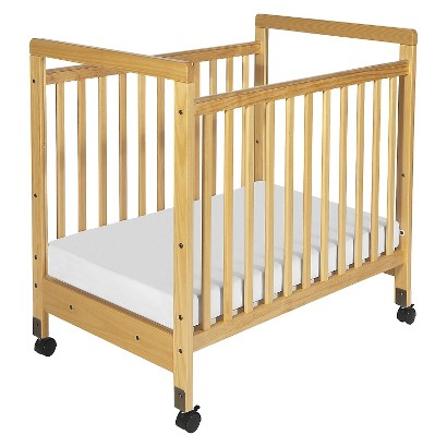 Foundations Clearview Wood Crib -Natural