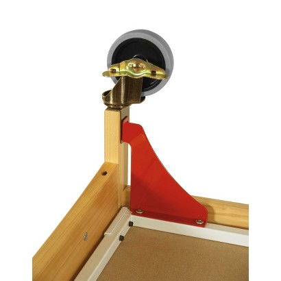 Foundations Evacuation Frame with Antique Brass Casters for Natural cribs (fits SafetyCraft, Serenity &