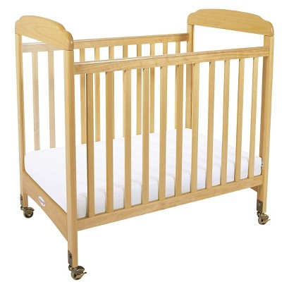 Foundations Crib with Mattress - Natural