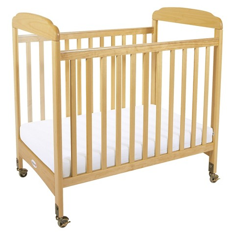 Foundations Crib with Mattress - Natural