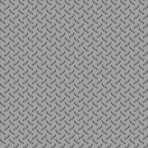 Cars Garage Metal Wallpaper -  Silver