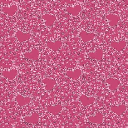Hearts Wallpaper - Pink