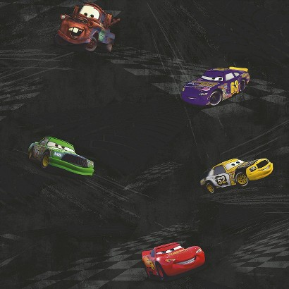 Cars Racing Wallpaper -  Black