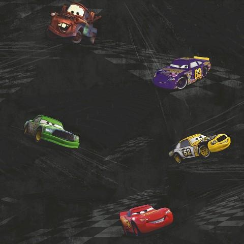 Cars Racing Wallpaper -  Black