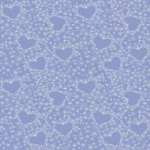 Hearts Wallpaper -  Purple
