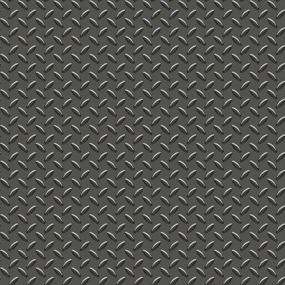 Cars Garage Metal Wallpaper -  Black