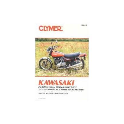 Kawasaki Z & Kz 900-100Cc Chain & Shaft Drive 1973-1981 (Paperback)