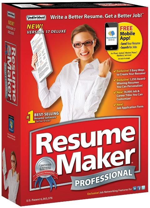 resumemaker professional deluxe 17 target
