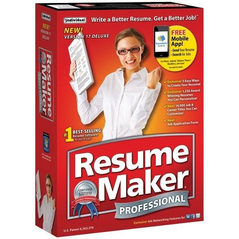 Resumemaker Professional Deluxe 17
