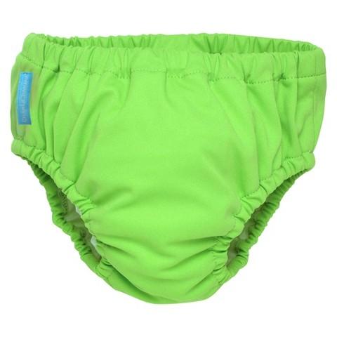 Charlie Banana Reusable Swim Diaper & Training Pant - Green (Select Size)
