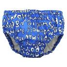Charlie Banana Reusable Swim Diaper & Training Pant - Handsome Blue (Select Size)