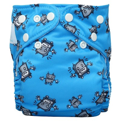 Charlie Banana Reusable Diaper 1 pack One Size - Robot
