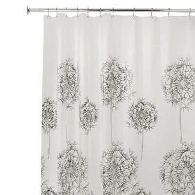 "InterDesign Allium Soft-Touch PEVA Shower Curtain (72"" x 72"")"