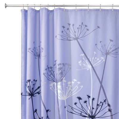 InterDesign Thistle Polyester Shower Curtain
