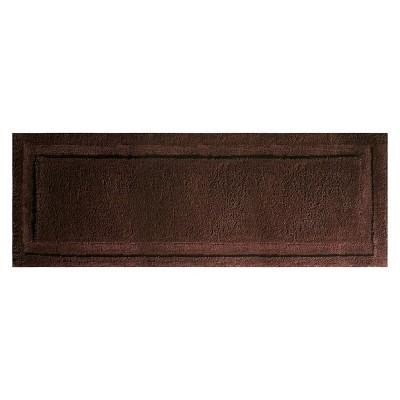 "InterDesign Extra Long Spa Bath Rug - Chocolate (60x21"")"