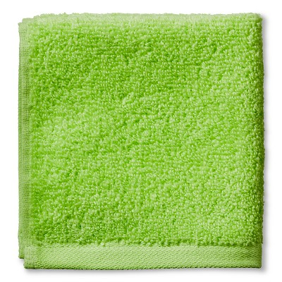 Room Essentials™ Fast Dry Washcloth - Spinach Green