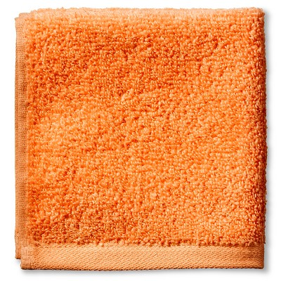 Fast Dry Washcloth Super Orange - Room Essentials™