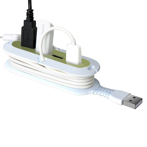 Quirky Contort 4 USB Hub and Cord Manager
