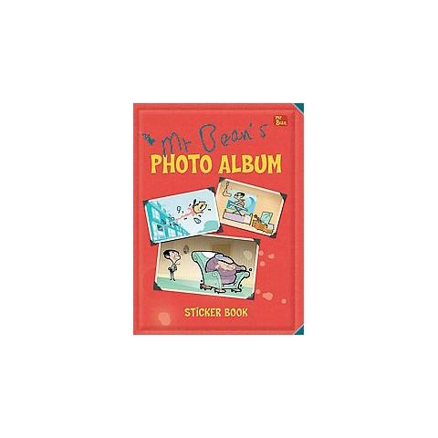 Mr Bean's Photo Album Sticker Book (Paperback)