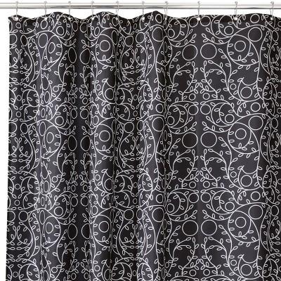 """InterDesign Twigz Polyester Shower Curtain (72"""" x 72"""")"""