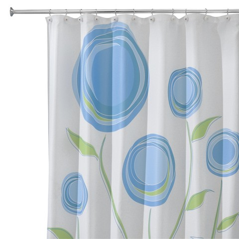 Interdesign marigold shower curtain product details page