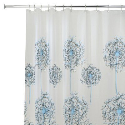 "InterDesign Allium Soft-Touch PEVA Shower Curtain (72"" x 72"")"