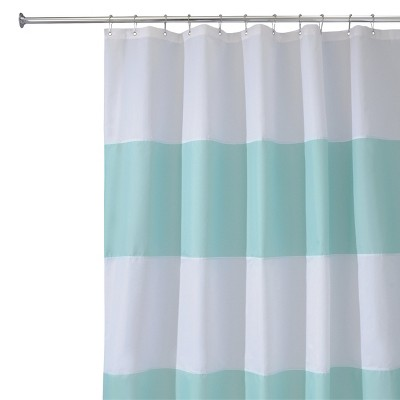 InterDesign Zeno Waterproof Shower Curtain