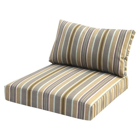 City Center 2-Piece Outdoor Club Chair Replacement Cushion Set