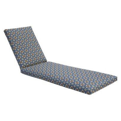 Claro Outdoor Chaise Lounge Replacement Cushion
