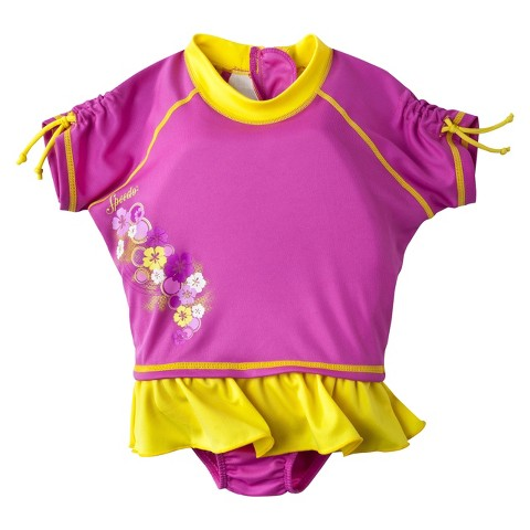 Speedo Girls Flotation Suit Pink