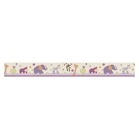 Bedtime Originals Pink-purple-orange and green LF Wallpaper Border
