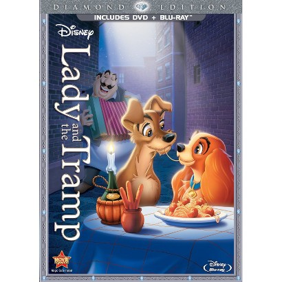 Lady and the Tramp (Diamond Edition) (2 Discs) (DVD/Blu-ray) (R) (Widescreen)