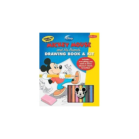 Mickey Mouse and His Friends Drawing Book & Kit (Paperback)