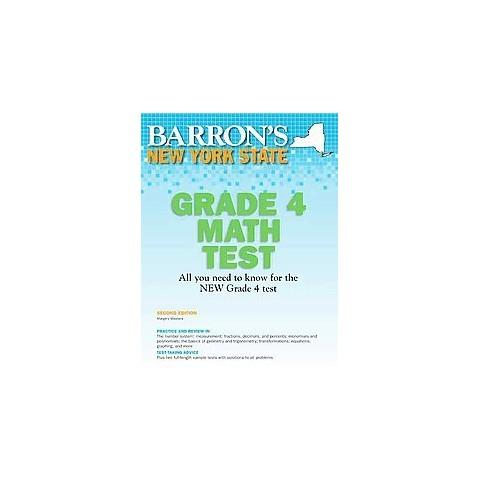 New York State Grade 4 Math Test (Paperback)