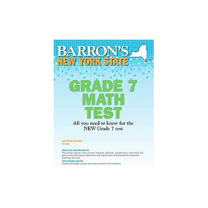 Barron's New York State Grade 7 Math Test (Revised) (Paperback)
