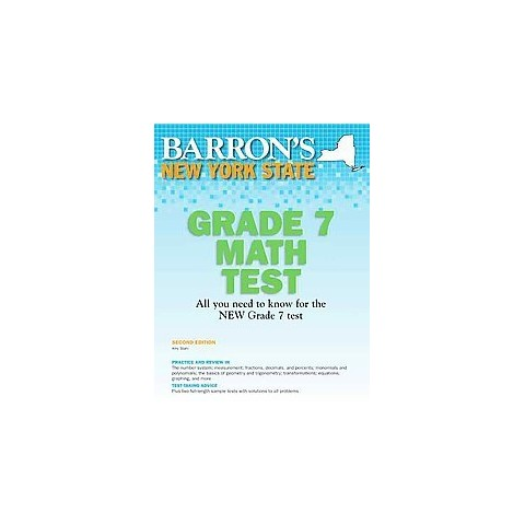 Barron's New York State Grade 7 Math Test (Revised) (Paperback)