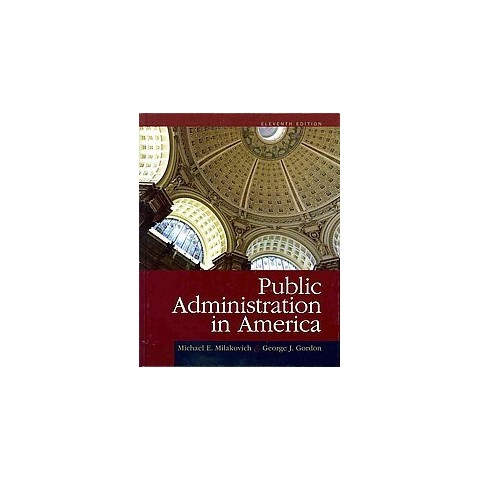 Public Administration in America (Hardcover)