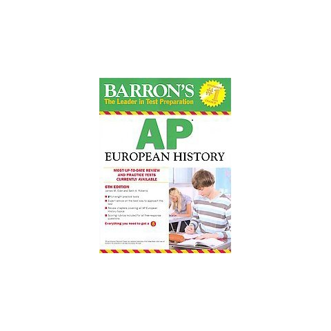 Barron's Ap European History (Paperback)