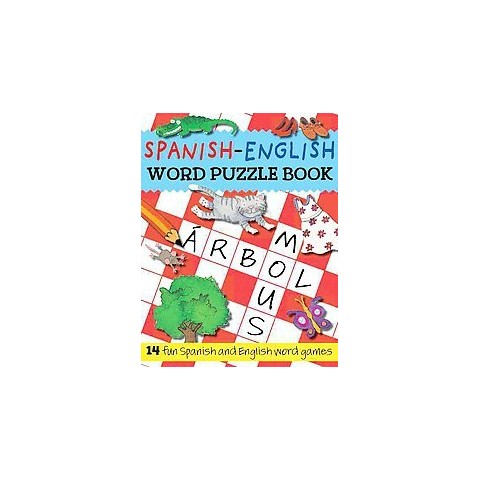 Spanish-English Word Puzzle Book (Bilingual) (Paperback)